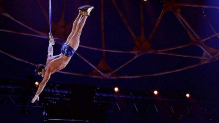 SCENE DRAMATICE! Un acrobat de la Cirque du Soleil a murit după ce a căzut pe scenă în timpul spectacolului (VIDEO)