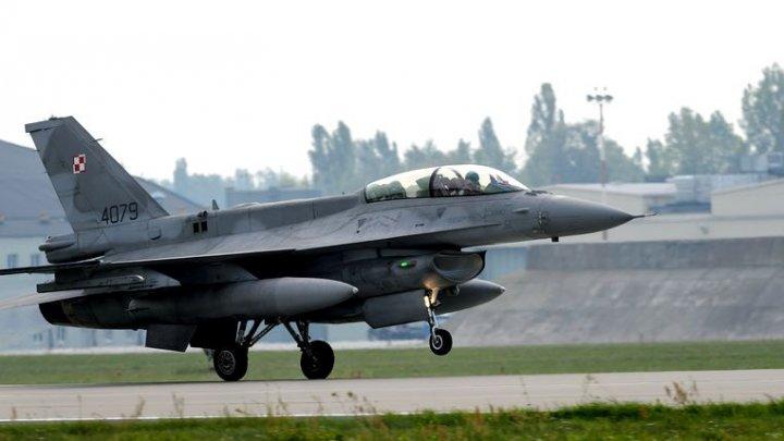 ACCIDENT AVIATIC: Un avion militar s-a prăbuşit în Marea Britanie