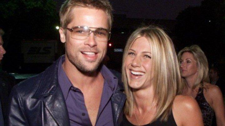 Brad Pitt și Jennifer Aniston, din nou împreună. Fotografia care i-a dat de gol