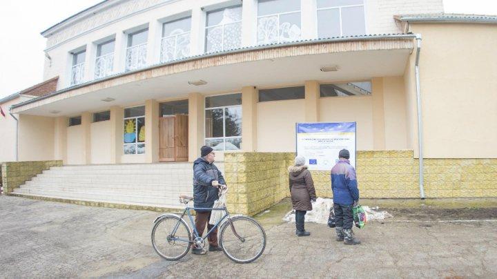 Casa de cultură din satul Carmanova, stânga Nistrului, este modernizată cu sprijinul UE