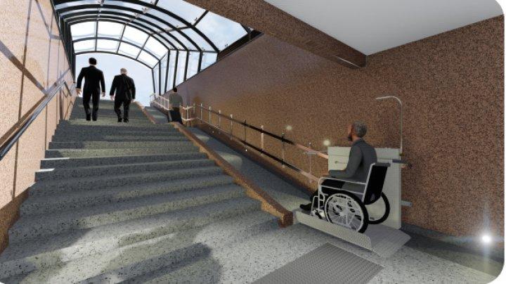 Pasajul subteran de la Mall va fi reabilitat. Cum va arăta după renovare (FOTO)