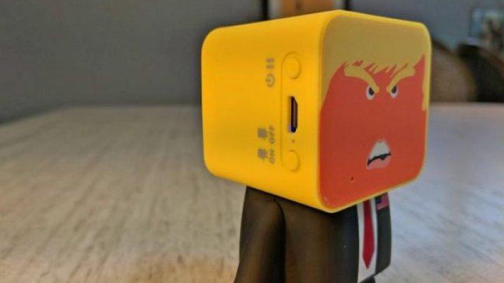 O companie a lansat o boxă wireless inedită, care are chipul preşedintelui american