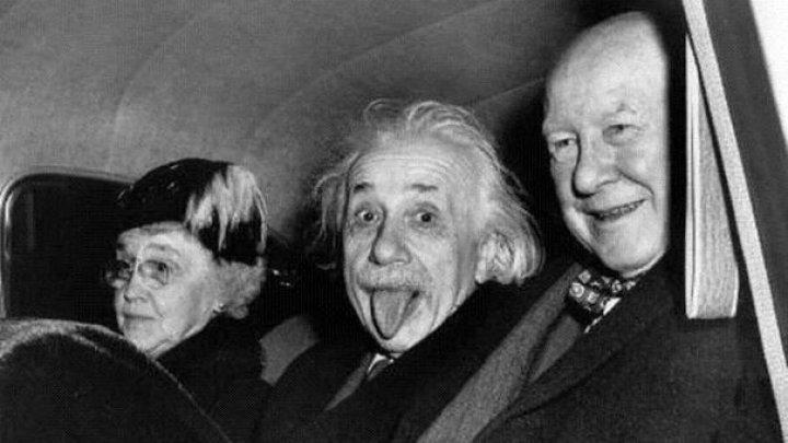 Povestea celebrei fotografii în care Einstein apare cu limba scoasă. De ce fizicianul a recurs la acest gest