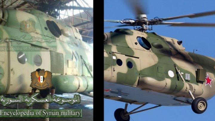 """Un elicopter al armatei ruse, echipat cu """"ucigaşul electronic"""", surprins în luptele din Siria"""