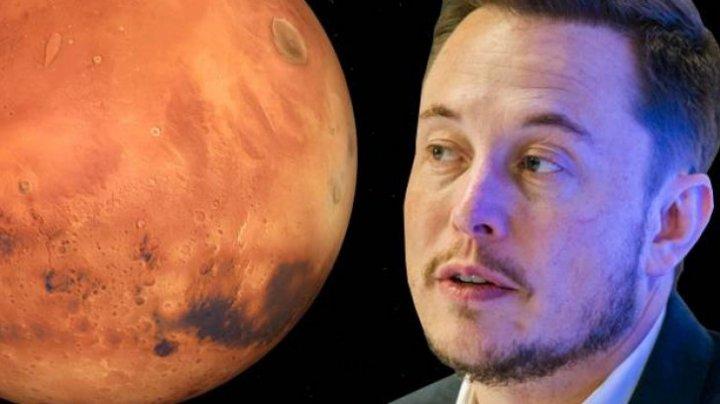 Viitorul omenirii, reprezentat de o altă planetă. Fondatorul Tesla va începe testarea unor zboruri pe Lună şi pe Marte