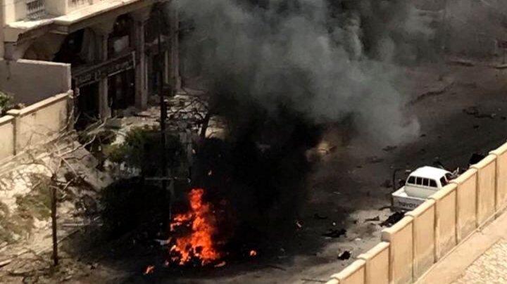 Atac cu bombă în Alexandria. Patru persoane au fost rănite, iar un polițist a murit