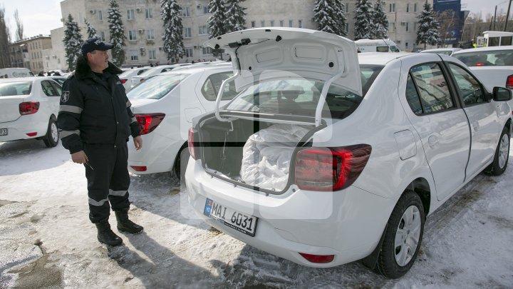 Ofiţerii de urmărire penală vor avea MAŞINI NOI! 42 de automobile au fost cumpărate din banii oferiţi de UE (FOTO)