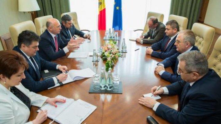Premierul Pavel Filip: Voi ține la control personal construcția gazoductului Ungheni-Chișinău