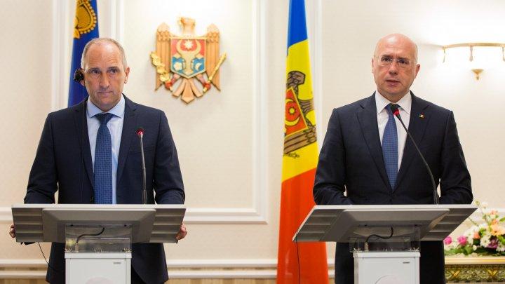 Premierul Pavel Filip și premierul Principatului Liechtenstein, Adrian Hasler, pledează pentru dezvoltarea cooperării bilaterale