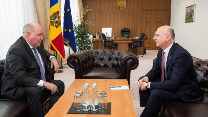 Pavel Filip a avut o întrevedere cu viceministrul rus de Externe, Grigorii Karasin (FOTO)