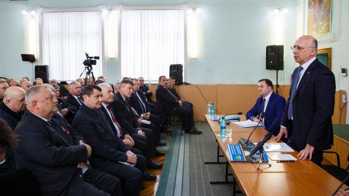 Premierul Pavel Filip s-a întâlnit cu întreprinzătorii din regiunea de nord a țării