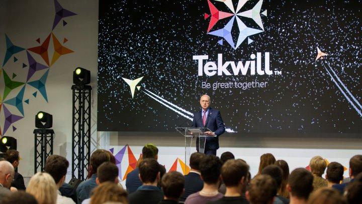 Pavel Filip, la aniversarea Tekwill: Motorul economiei mondiale se regăsește astăzi în dimensiunea IT