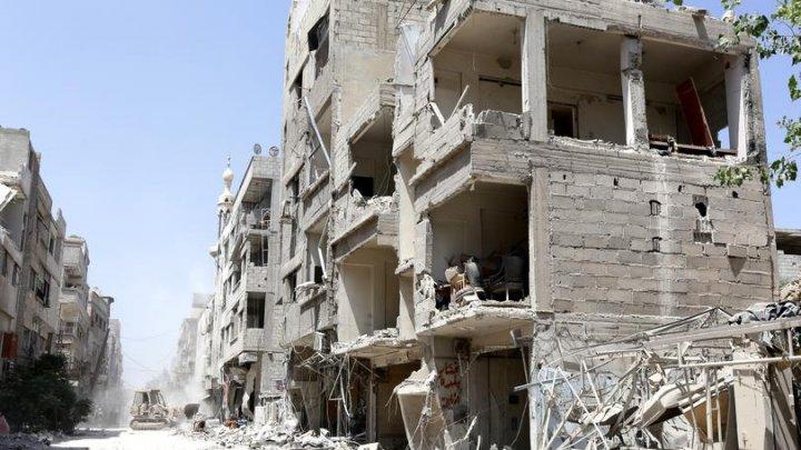 Ultimul bilanț arată că peste 900 de civili au murit în Ghouta Orientală din Siria