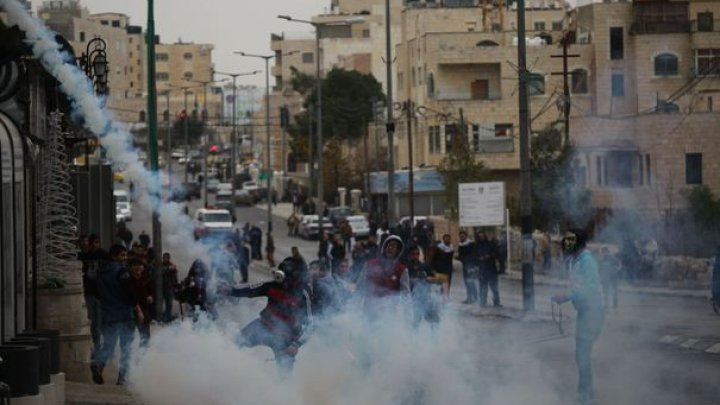 Protestatar palestinian, împuşcat mortal de armata israeliană