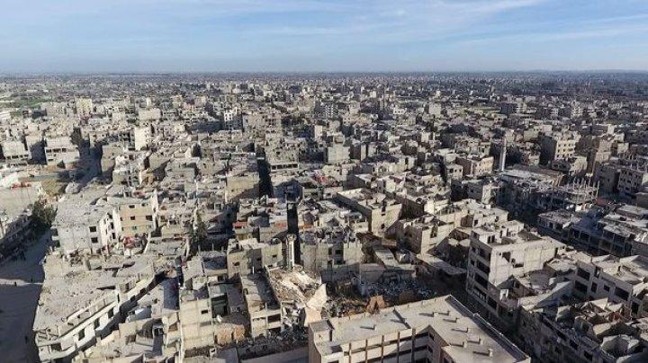 Un laborator pentru fabricarea de armament chimic, descoperit la periferia Damascului