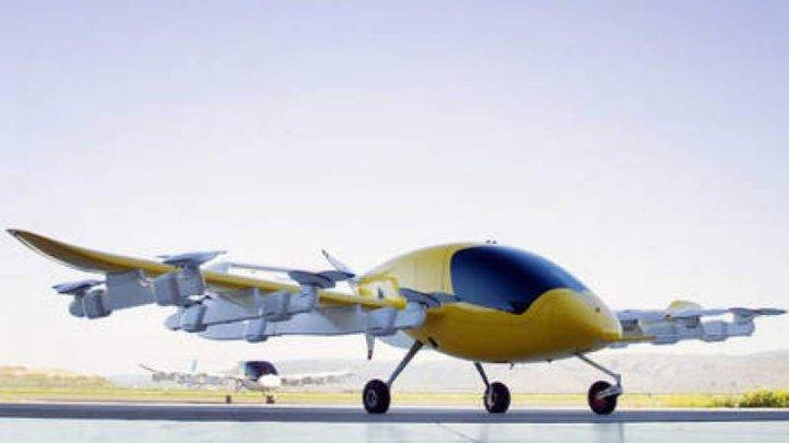 UIMITOR! Cum arată primul TAXI AERIAN electric care se pilotează singur (VIDEO)