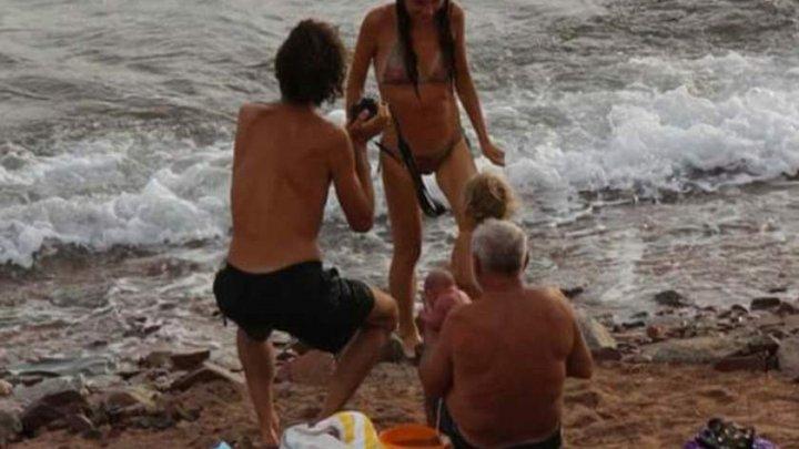 Scene şocante! O turistă a născut în timp ce se bălăcea în mare într-un complex turistic din Egipt (FOTO)