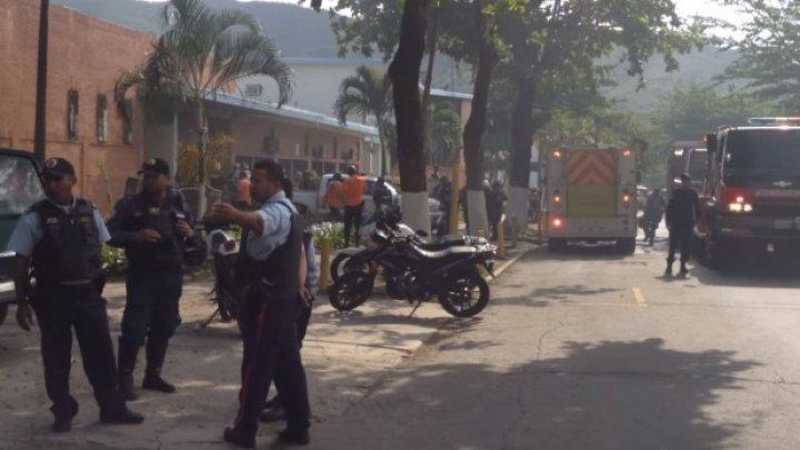 68 de oameni au murit într-o secţie de poliţie din Venezuela, în timpul unei revolte a deţinuţilor