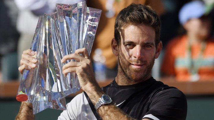 Juan Martin del Potro este noul campion de la Indian Wells