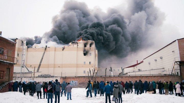 Incendiul devastator din Rusia: Autorităţile spun că mall-ul a fost construit ilegal şi fac noi arestări
