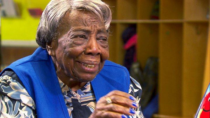 SURPRIZĂ PLĂCUTĂ pentru Virginia McLaurin. Aceasta va împlini 109 ani pe 12 martie