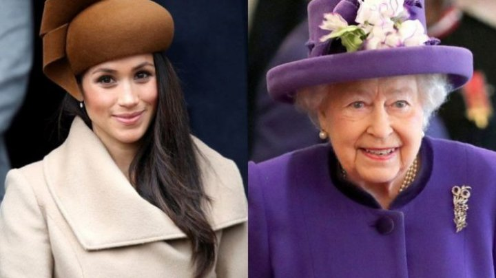 Cum s-a purtat Meghan Markle, logodnica Prințului Harry, prima dată în public lângă Regina Elisabeta