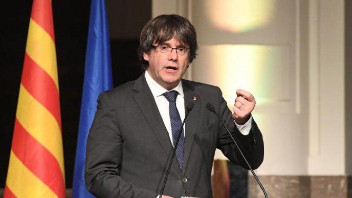 Fostul lider catalan Carles Puigdemont, reţinut în Germania