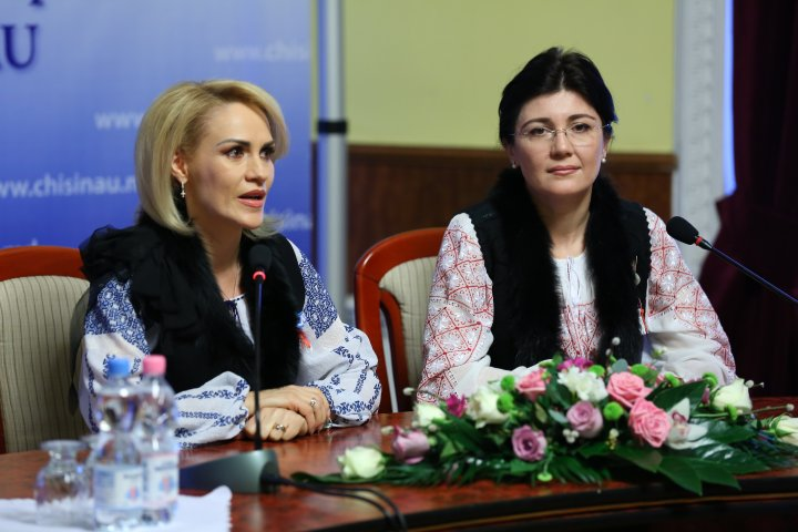 Gabriela Firea: Nu am venit la Chişinău să fac politică, eu am venit la Chişinău să fac politici publice