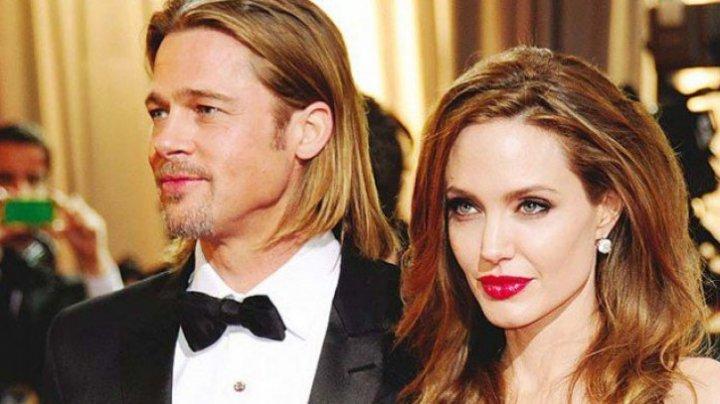 După despărţirea de Angelina Jolie, Brad Pitt s-a refugiat în braţele altei actriţe foarte frumoasă