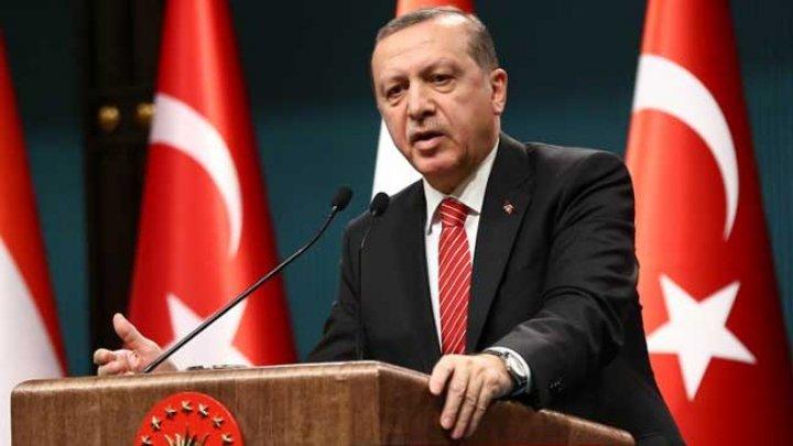 """Recep Tayyip Erdogan: Aderarea Turciei la UE rămâne un """"obiectiv strategic"""""""