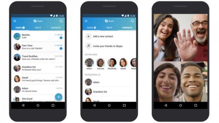 Skype va avea şi o versiune de Android optimizată pentru telefoane low-end