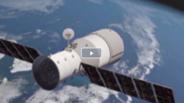 Staţia spaţială chineză Tiangong-1 se va prăbuşi pe Pământ între 30 martie şi 2 aprilie