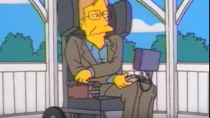 În ce filme a apărut Stephen Hawking. Vestitul fizician a murit de ziua Pi (VIDEO)