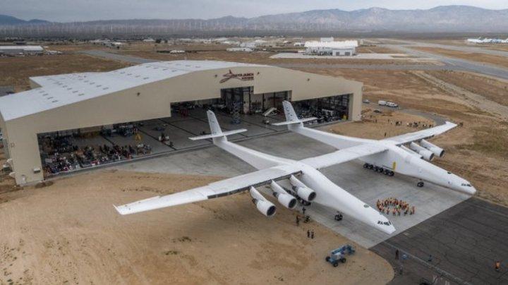 UIMITOR! Cel mai mare avion construit vreodată, foarte aproape de primul său zbor