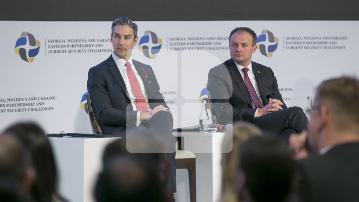 Andrian Candu: Moldova, Georgia, Ucraina - suntem o voce regională, determinați să ieșim din Zona Gri, pentru un viitor european comun