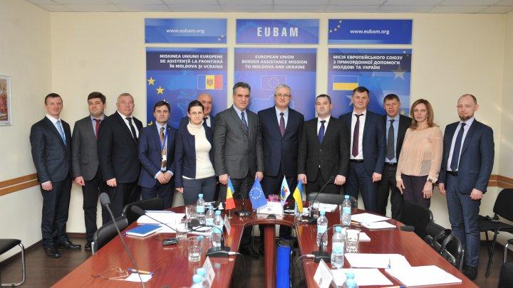 Autoritățile vamale din Republica Moldova și Ucraina își consolidează, cu suportul EUBAM, cooperarea în domeniul MIF