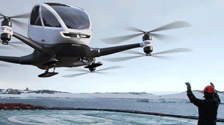 UIMITOR! Larry Page, cofondator al Google, testează taxiuri zburătoare în Noua Zeelandă (VIDEO)