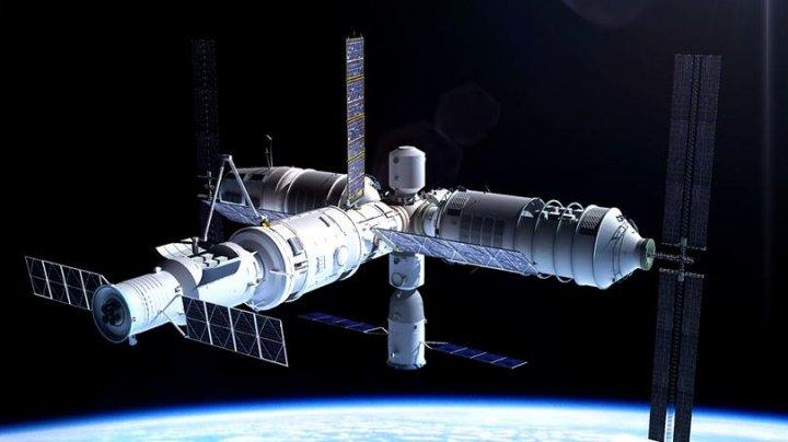 O stație spațială chinezească, plină cu un material toxic, se poate prăbuși în Europa