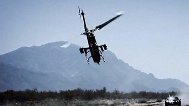 O persoană, grav rănită după prăbuşirea unui elicopter în Marea Britanie