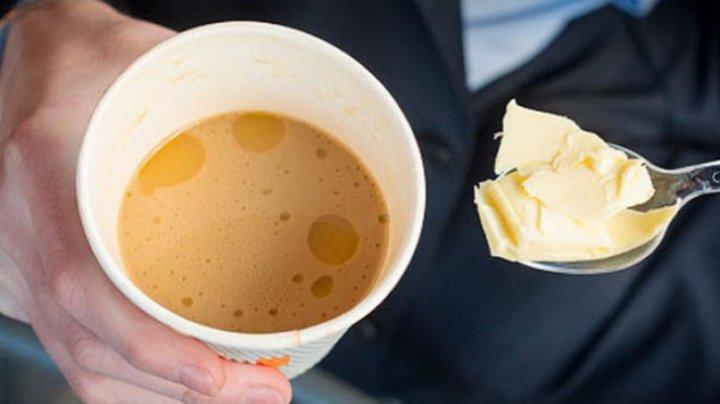 Obiceiul tot mai popular şi delicios: unt adăugat în cafea. Motivele sunt uimitoare