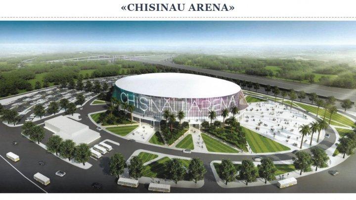 A fost prezentat conceptul Arena Chişinău. Chiril Gaburici: Construcția unei arene polivalente reprezintă o prioritate strategică a statului