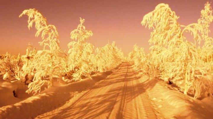 Fenomen neobişnuit! În Moldova ar putea ninge cu ZĂPADĂ PORTOCALIE
