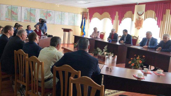 Gaburici a cerut primarului de Stăuceni implicare și susținere pentru construcţia Arenei Chişinău