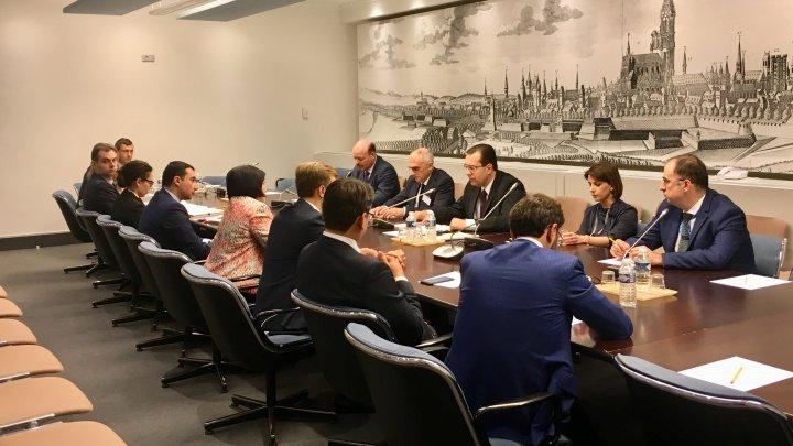 Șefii delegațiilor APCE ale celor patru țări membre ale GUAM s-au întâlnit la Strasbourg