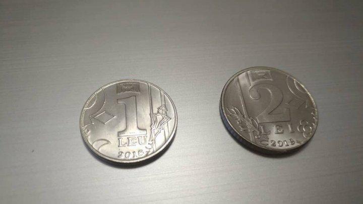 Au apărut primele monede de 1 şi 2 lei. Cum puteţi face rost de ele