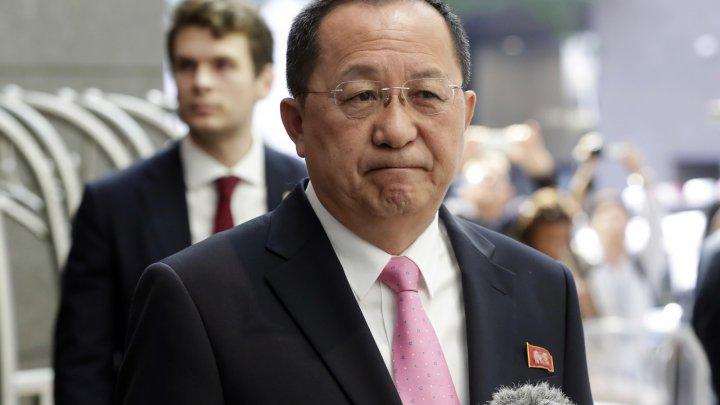 Şeful diplomaţiei nord-coreene, în vizită oficială în China