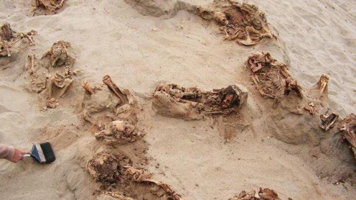 A fost descoperit cel mai mare loc de sacrificiu colectiv pentru copii, în Peru