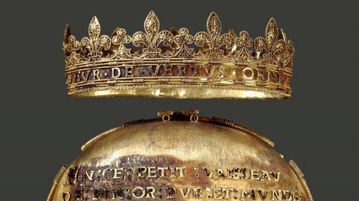 Inima singurei femei încoronată regină a Franței de două ori a fost furată dintr-un muzeu