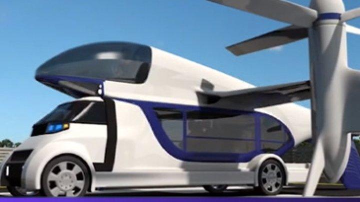 UIMITOR! O firmă din San Francisco a prezentat proiectul unui vehicul care poate asigura şi transport rutier, şi aerian (VIDEO)