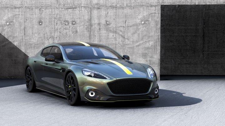 Aston Martin pregăteşte o versiune şi mai puternică a sedanului sportiv de lux Rapide S